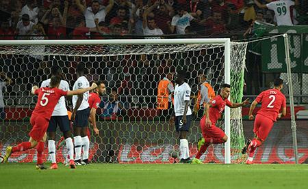 تركيا تصعق فرنسا بطلة العالم