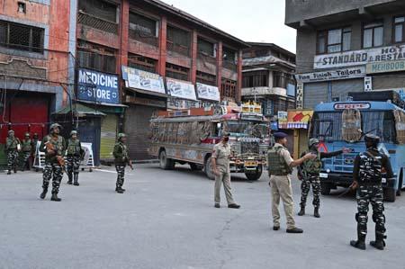 السلطات الهندية تغلق المدينة الرئيسية