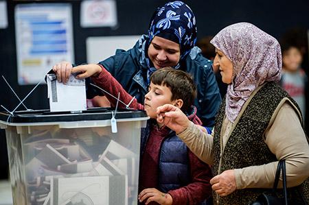 نتائج أولية لانتخابات كوسوفو تظهر