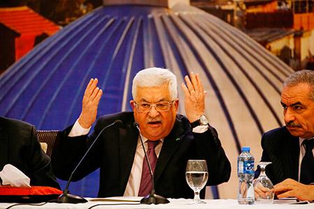 الرئيس الفلسطيني محمود عباس:'لن نوافق (Photo-by-ABBAS-MOMA