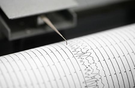 زلزال بقوة منطقة البحر الأبيض