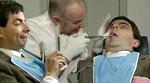 مستر بين في عيادة طبيب الأسنان