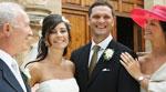 موقف طريف لعروس يوم زفافها